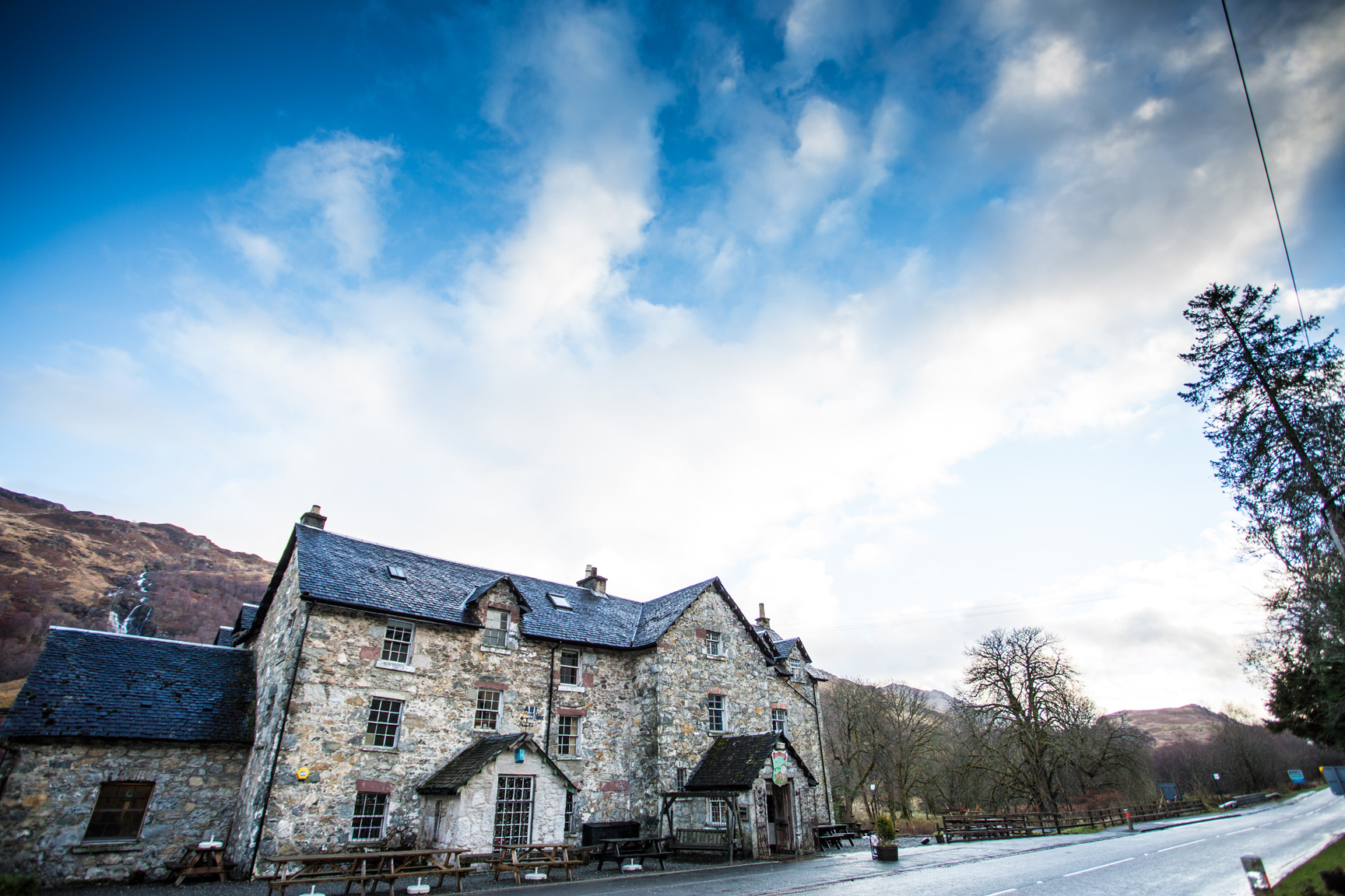 The Drovers Inn, Loch Lomond Hotel, Restaurant and Bar with Live Music