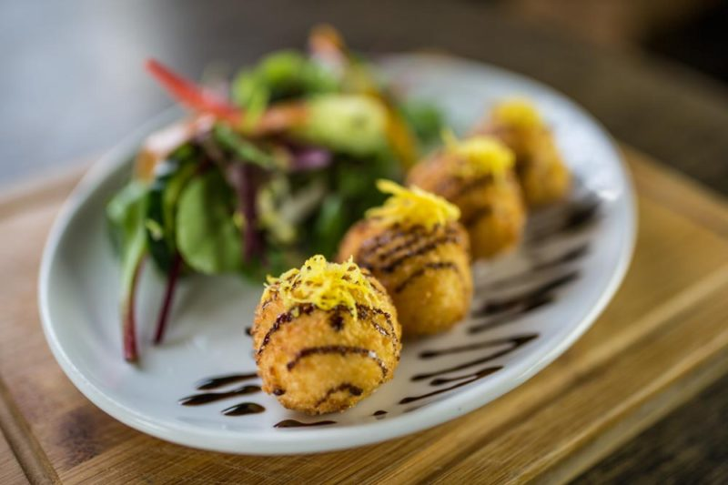 Goats Cheese Bon Bons