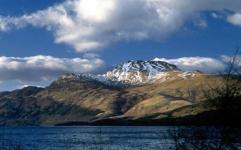 Ben Lomond With Snow